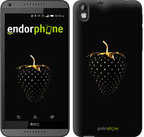 "Чехол на HTC Desire 816 Черная клубника ""3585u-169"""