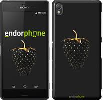 "Чехол на Sony Xperia Z5 Compact E5823 Черная клубника ""3585u-322"""