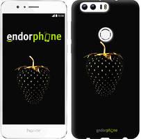 """Чохол на Huawei Honor 8 Чорна полуниця """"3585u-351"""""""