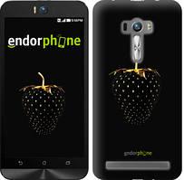 "Чехол на Asus ZenFone Selfie ZD551KL Черная клубника ""3585u-116"""