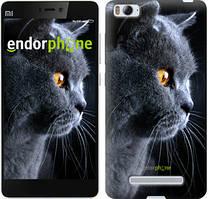 """Чехол на Xiaomi Mi4 Красивый кот """"3038u-163"""""""