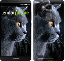 """Чохол на Huawei Ascend Mate 7 MT7-L09 Красивий кіт """"3038u-140"""""""