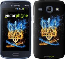 Чехол на Samsung Galaxy J1 Ace J110H Черный, Герб