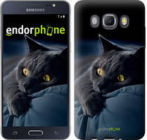 """Чохол на Samsung Galaxy J5 (2016) J510H Димчастий кіт """"825c-264"""""""