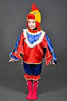 Детский карнавальный костюм Петух Петушок. Новогодний маскарадный костюм на Новый Год