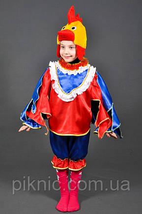 Костюм Петушок 4,5,6,7 лет Детский новогодний костюм Петух Півень Півник для детей мальчиков 342, фото 2