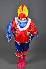 Костюм Петушок 4,5,6,7 лет Детский новогодний костюм Петух Півень Півник для детей мальчиков 342, фото 3