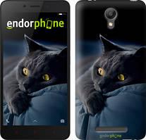 "Чехол на Xiaomi Redmi Note 2 Дымчатый кот ""825c-96"""