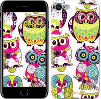 "Чехол на iPhone 7 Совы ""1805c-336"""