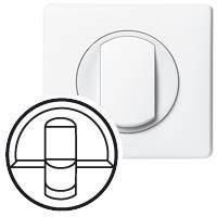 Celiane Legrand лицевая  панель розетки 2xRJ45 кат.6 (для UTP/FTP/SFTP), белый