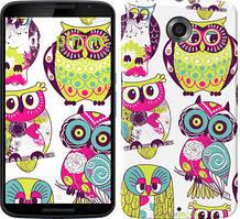 "Чехол на Nokia Lumia 1520 Совы ""1805u-314"""