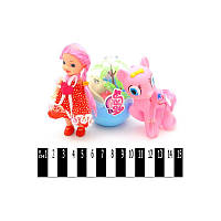 Пони с куклой My little Horse