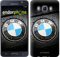 Чехол на Samsung Galaxy J5 (2016) J510H Черный, BMW