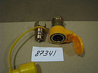 Муфта разъемная пневматическая М16х1,5 (желтая), каталожный № БРС-62