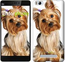 """Чехол на Xiaomi Mi4i Йоркширский терьер с хвостиком """"930c-177"""""""