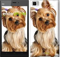 """Чехол на Xiaomi Mi3 Йоркширский терьер с хвостиком """"930u-170"""""""