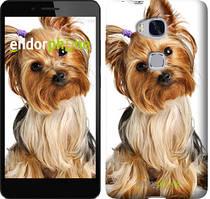 "Чехол на Huawei Honor 5X Йоркширский терьер с хвостиком ""930u-176"""