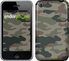 "Чехол на iPhone 3Gs Камуфляж v3 ""1097c-34"""