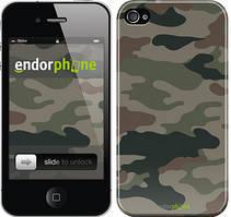 "Чехол на iPhone 4 Камуфляж v3 ""1097c-15"""