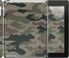 "Чехол на iPad 2/3/4 Камуфляж v3 ""1097c-25"""