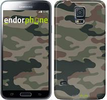 "Чехол на Samsung Galaxy S5 Duos SM G900FD Камуфляж v3 ""1097c-62"""