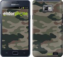 "Чехол на Samsung Galaxy S2 Plus i9105 Камуфляж v3 ""1097c-71"""