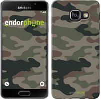"Чехол на Samsung Galaxy A3 (2016) A310F Камуфляж v3 ""1097c-159"""