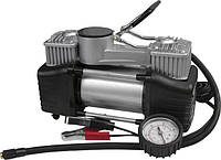 Миникомпрессор автомобильный двухпоршневой Miol 81-118