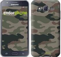 """Чехол на Samsung Galaxy J5 J500H Камуфляж v3 """"1097c-100"""""""
