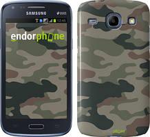 Чехол на Samsung Galaxy J1 Ace J110H Камуфляж v3, Зеленый