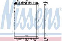 Радиатор двигателя DAF XF 105 NISSENS (без рамки)