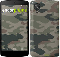 "Чехол на LG Nexus 5 Камуфляж v3 ""1097c-57"""