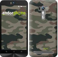 "Чехол на Asus ZenFone Selfie ZD551KL Камуфляж v3 ""1097u-116"""