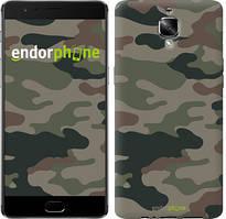 "Чехол на OnePlus 3 Камуфляж v3 ""1097u-334"""