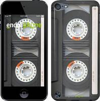 Чехол на iPod Touch 5 Серый, Кассета