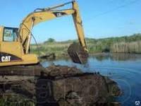 Углубление озер каналов. Углубление и очистка водоемов