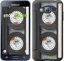 Чехол на Samsung Galaxy J3 Duos (2016) J320H Серый, Кассета