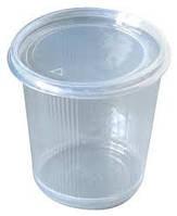Круглый контейнер (с крышкой) для супа SL - 110083 PР 500 мл. 50шт/уп  прозрачный