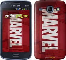 Чехол на Samsung Galaxy J1 Ace J110H Красный, Marvel