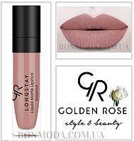 Матовая стойкая жидкая помада Golden Rose Longstay liquid Matte № 13