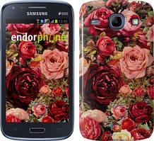 Чехол на Samsung Galaxy J1 Ace J110H Красный, Цветущие розы
