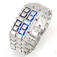 Часы Iron Samurai silver-blue