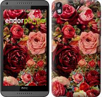 """Чехол на HTC Desire 816 Цветущие розы """"2701u-169"""""""