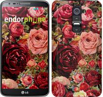 """Чехол на LG G2 Цветущие розы """"2701u-37"""""""