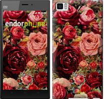 """Чехол на Xiaomi Mi3 Цветущие розы """"2701u-170"""""""
