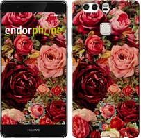 """Чохол на Huawei P9 Plus Квітучі троянди """"2701u-300"""""""