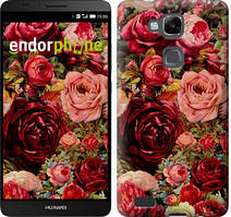 """Чохол на Huawei Ascend Mate 7 MT7-L09 Квітучі троянди """"2701u-140"""""""