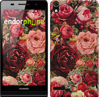 """Чехол на Huawei Y6 II Цветущие розы """"2701u-338"""""""