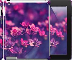 "Чехол на iPad 2/3/4 Пурпурные цветы ""2719c-25"""