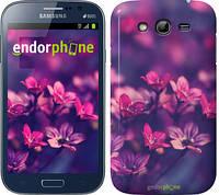 "Чехол на Samsung Galaxy Grand Neo I9060 Пурпурные цветы ""2719c-112"""